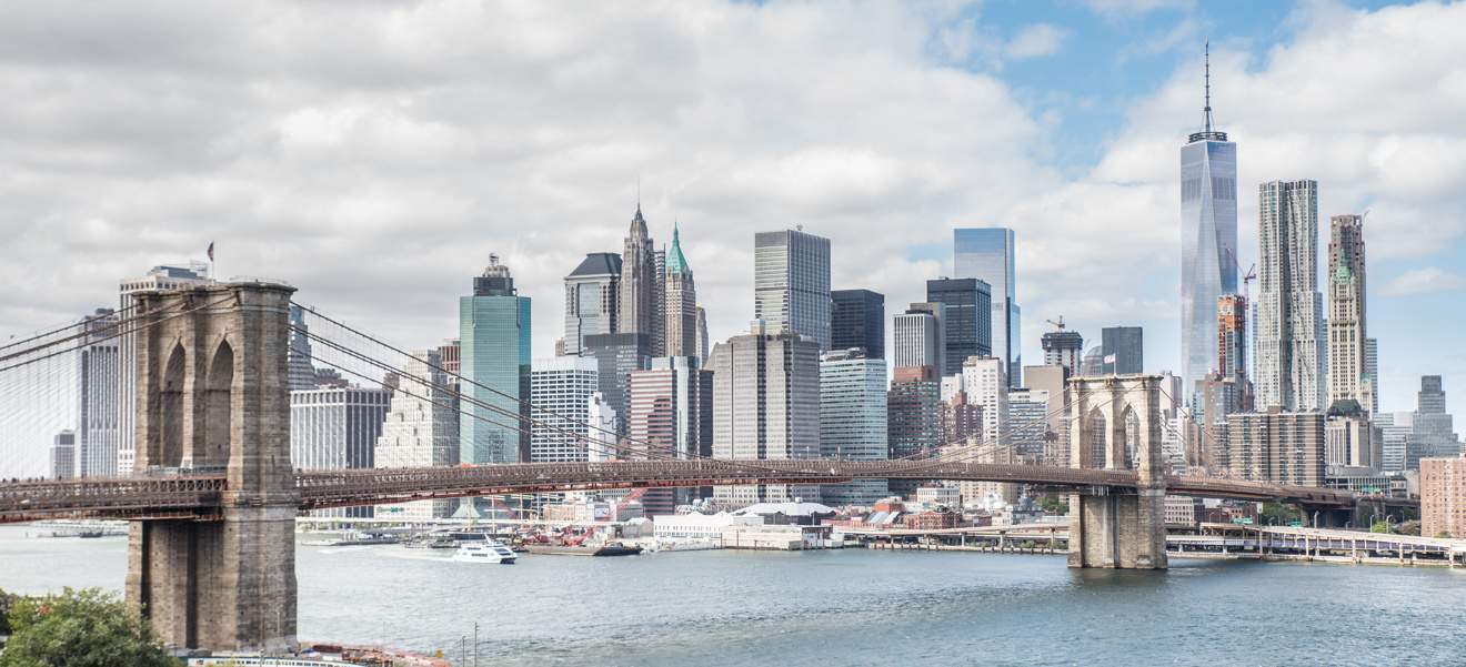 A nice view of New York City